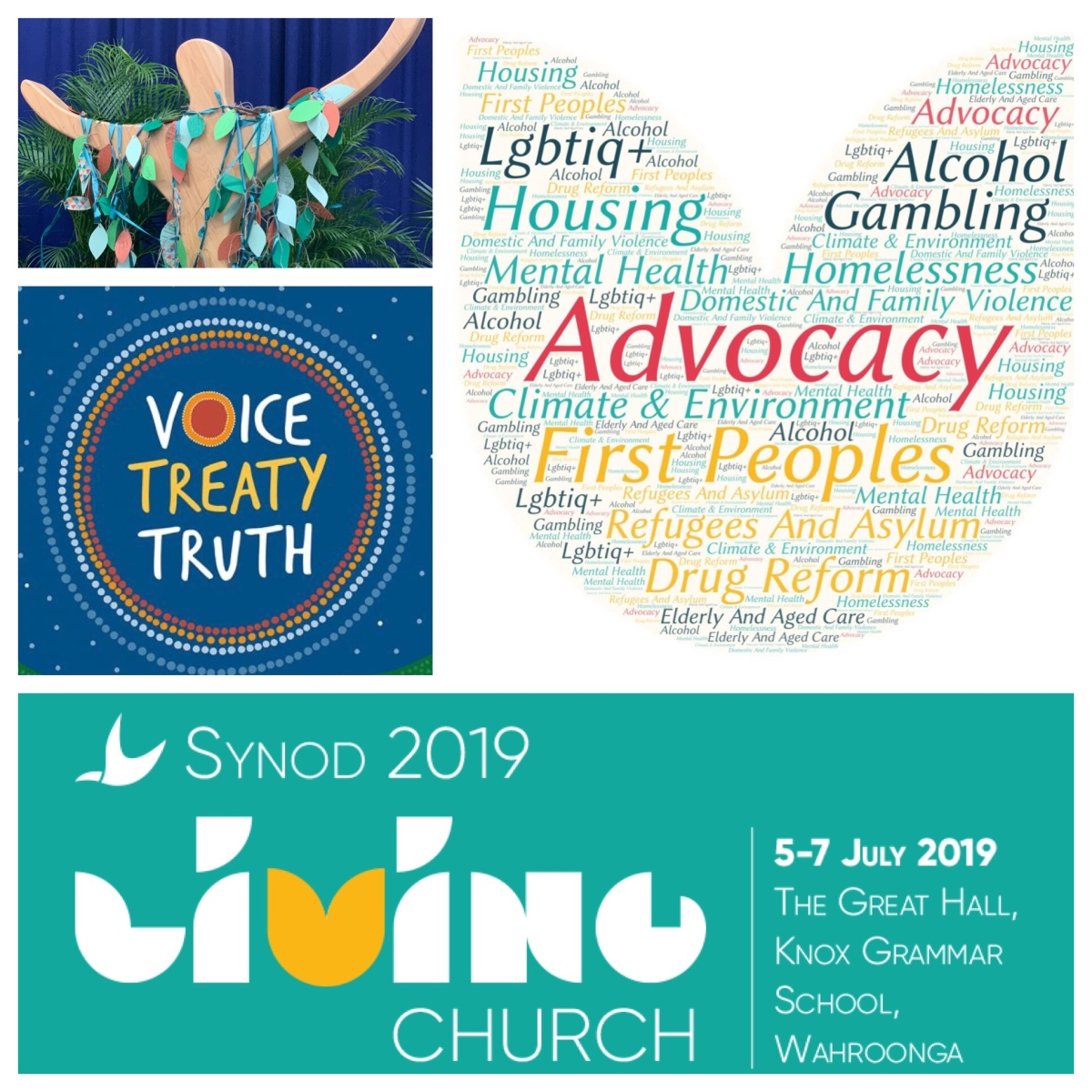 Advocacy and Climate Change, Growth and Formation, Treaty with First Peoples: Synod 2019