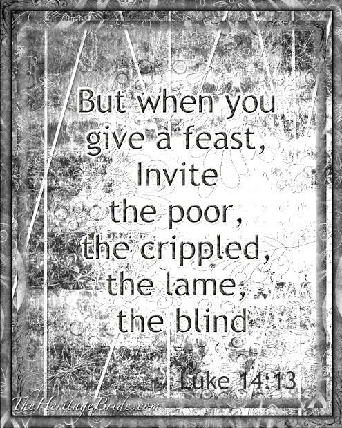 Disreputable outsiders invited inside: parables in Luke14