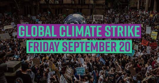 Supporting the Climate Strike