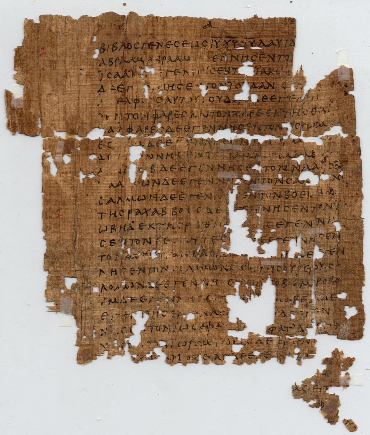The origins of Jesus in the book of origins: Matthew1