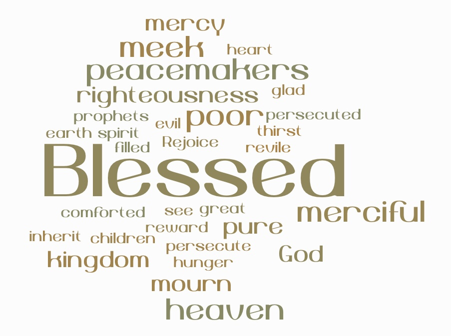 Blessed are you: the Beatitudes of Matthew5