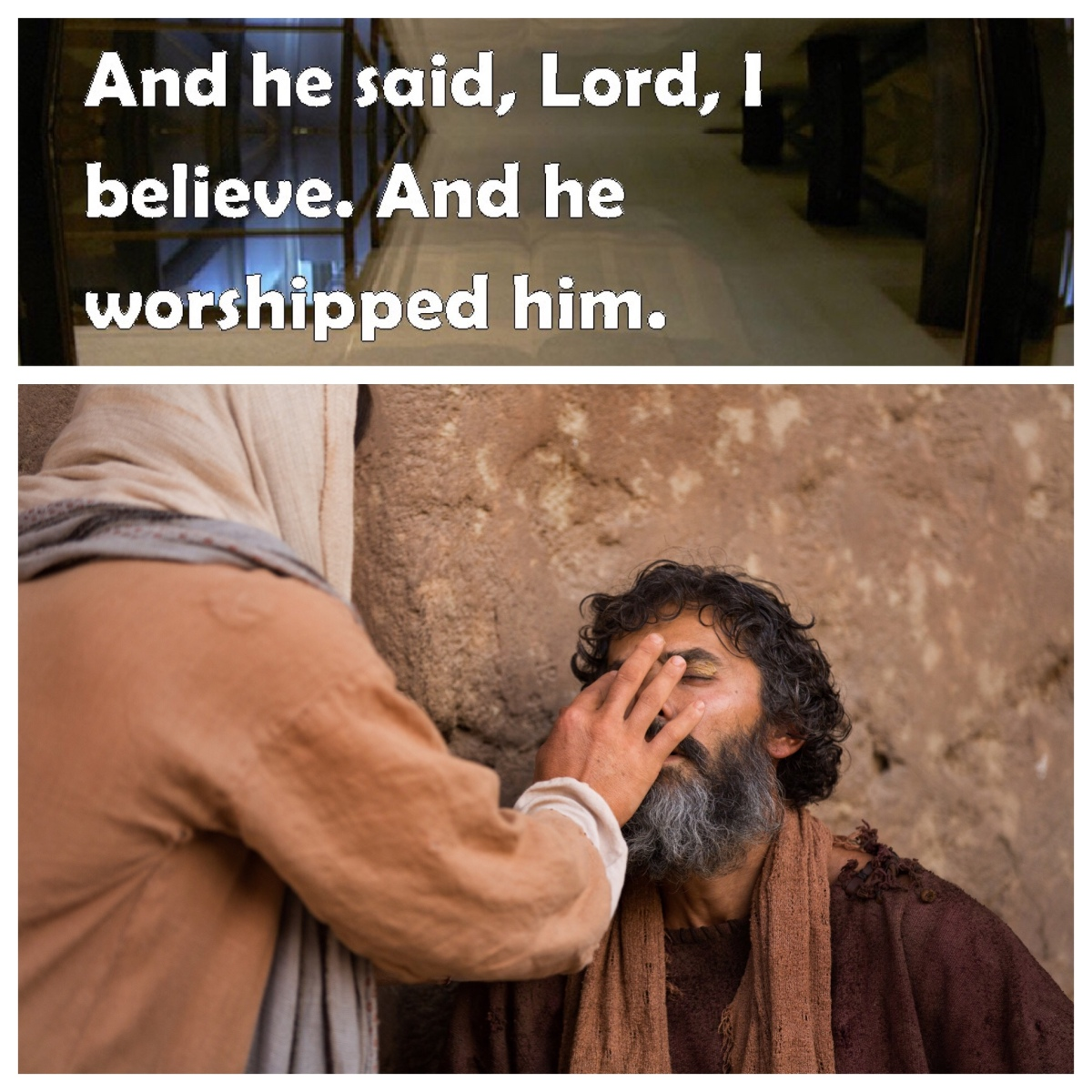 In the most unlikely company: confessing faith in Jesus (John 9)