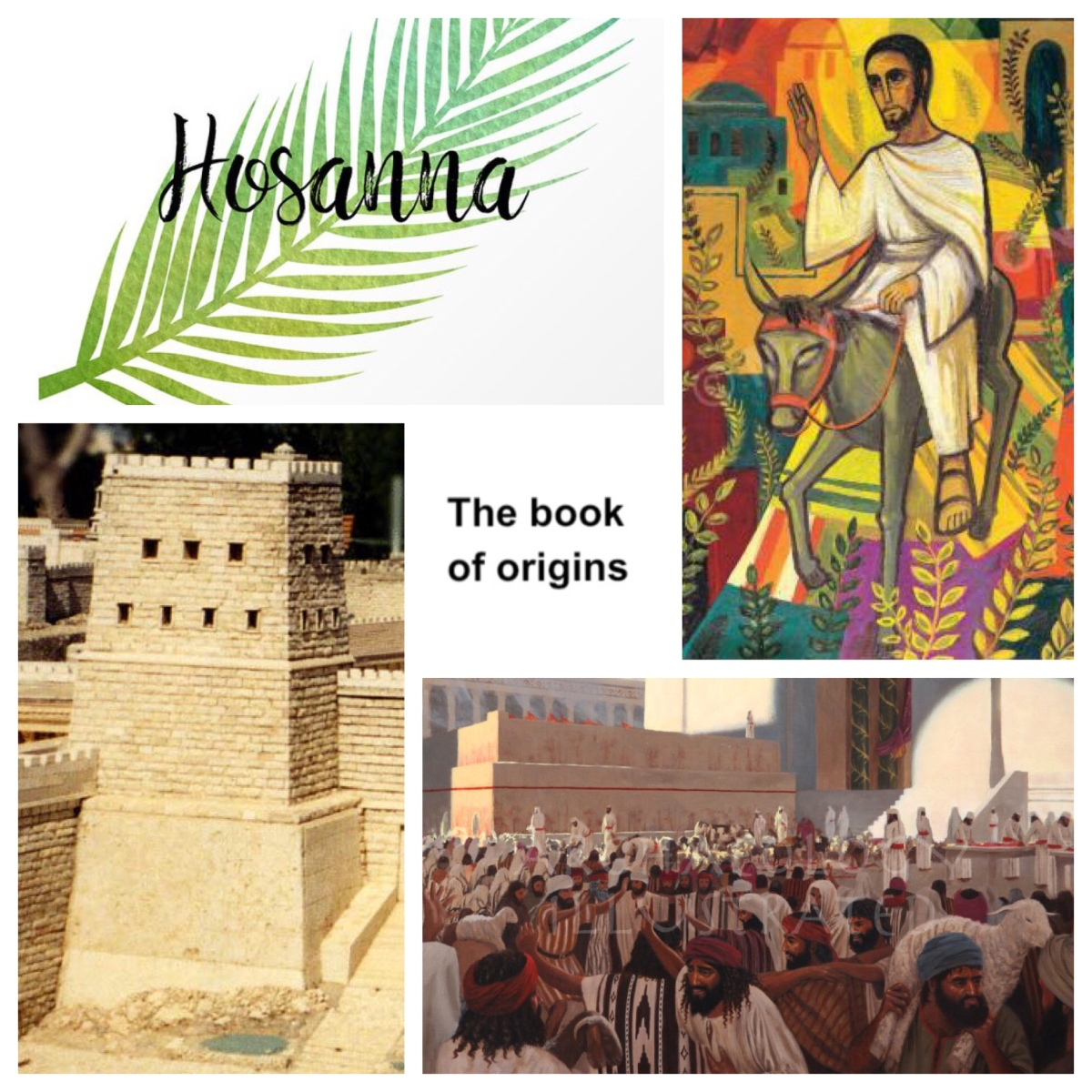 Towards Palm Sunday (Matt 21): Riding on a donkey (or two) as the crowd shouts 'Hosanna'