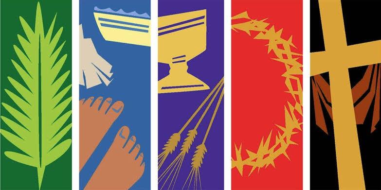 Holy Week: a week set apart, in a time setapart.
