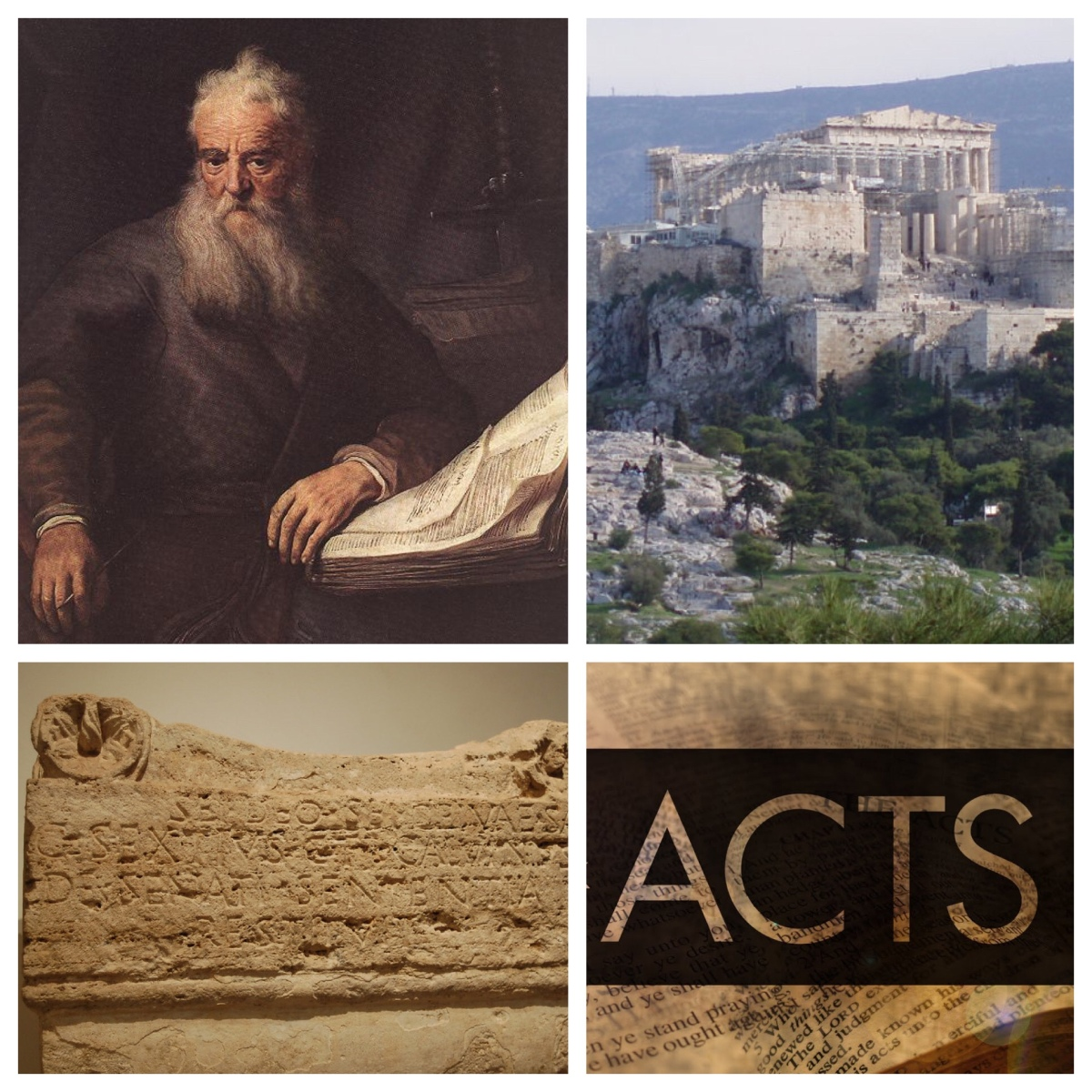 The unknown God, your own poets, and the man God chose: Paul on the Areopagus (Acts 17; Easter6A)