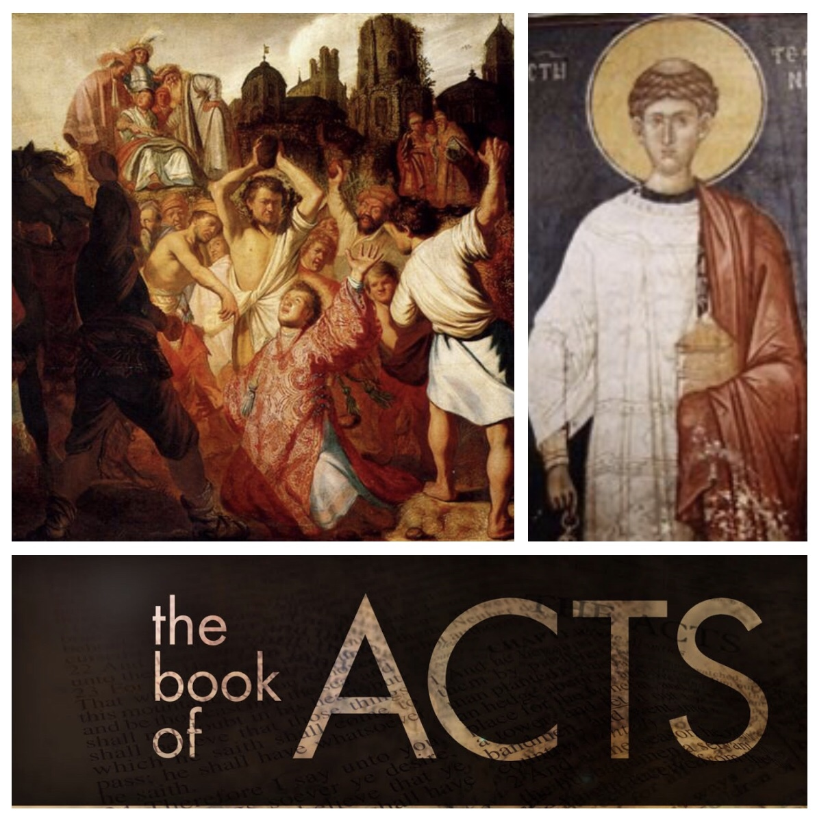 The heavens opened: the witness of Stephen (Acts 7; Easter5A)