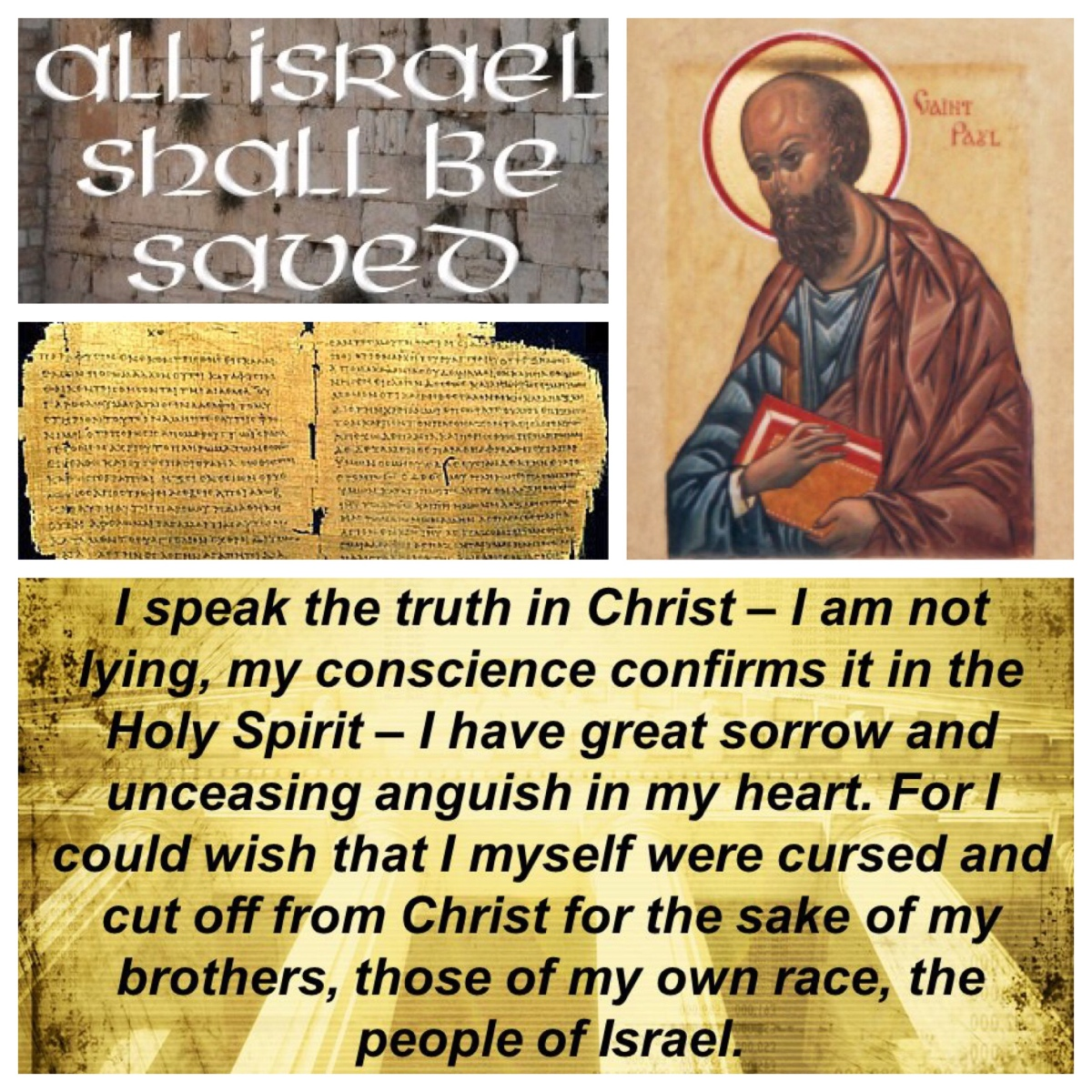 Praying to be cursed: Paul, the passionate partisan for the cause (Rom 9:3; Pentecost10A)