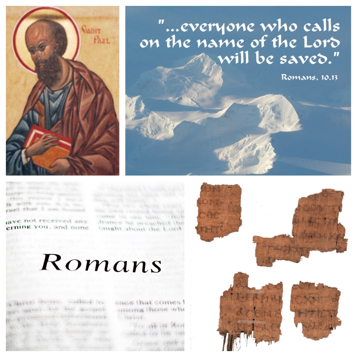 "A deeper understanding of God, through dialogue with ""the other"" (Romans 10)"