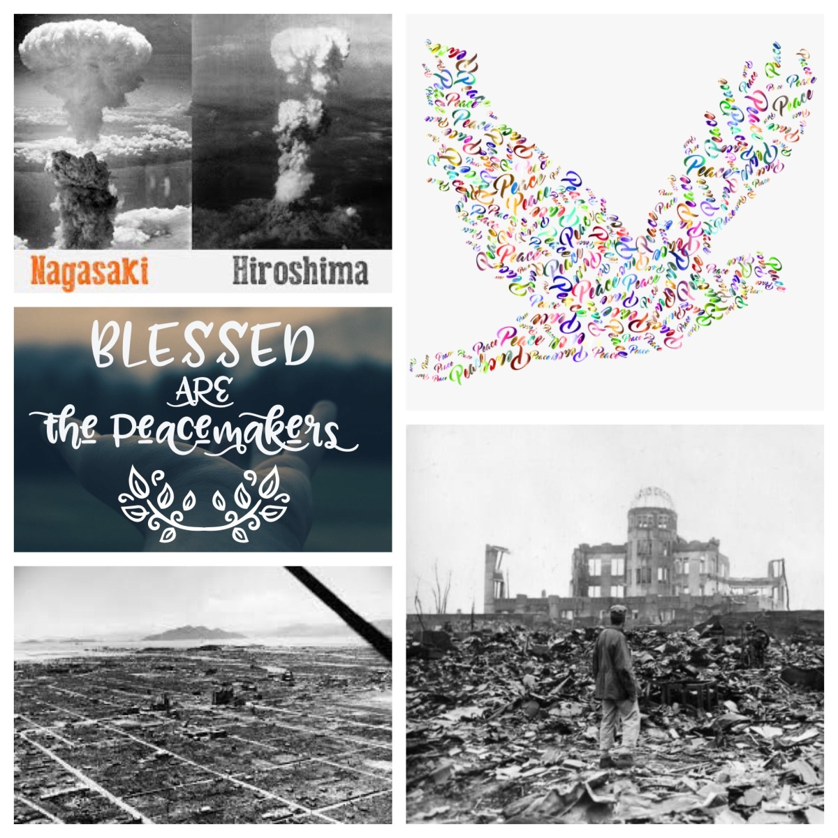 Hiroshima and Nagasaki (1945), and the commitment to seek peace (2020)