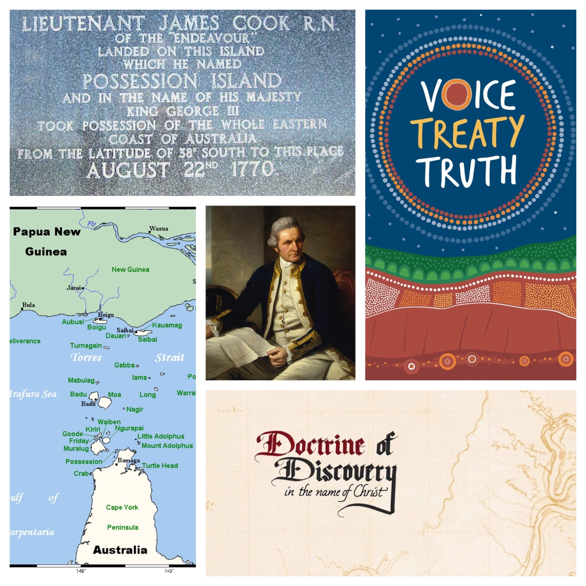 James Cook: Captain? Discoverer? Invader? Coloniser? Cook, the Endeavour, and Possession Island.