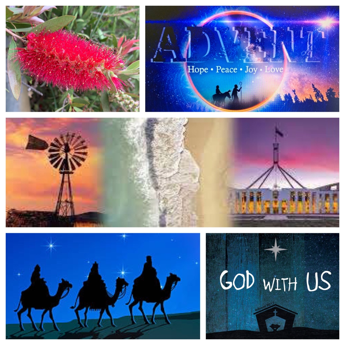 Advent Greetings from Canberra Region Presbytery