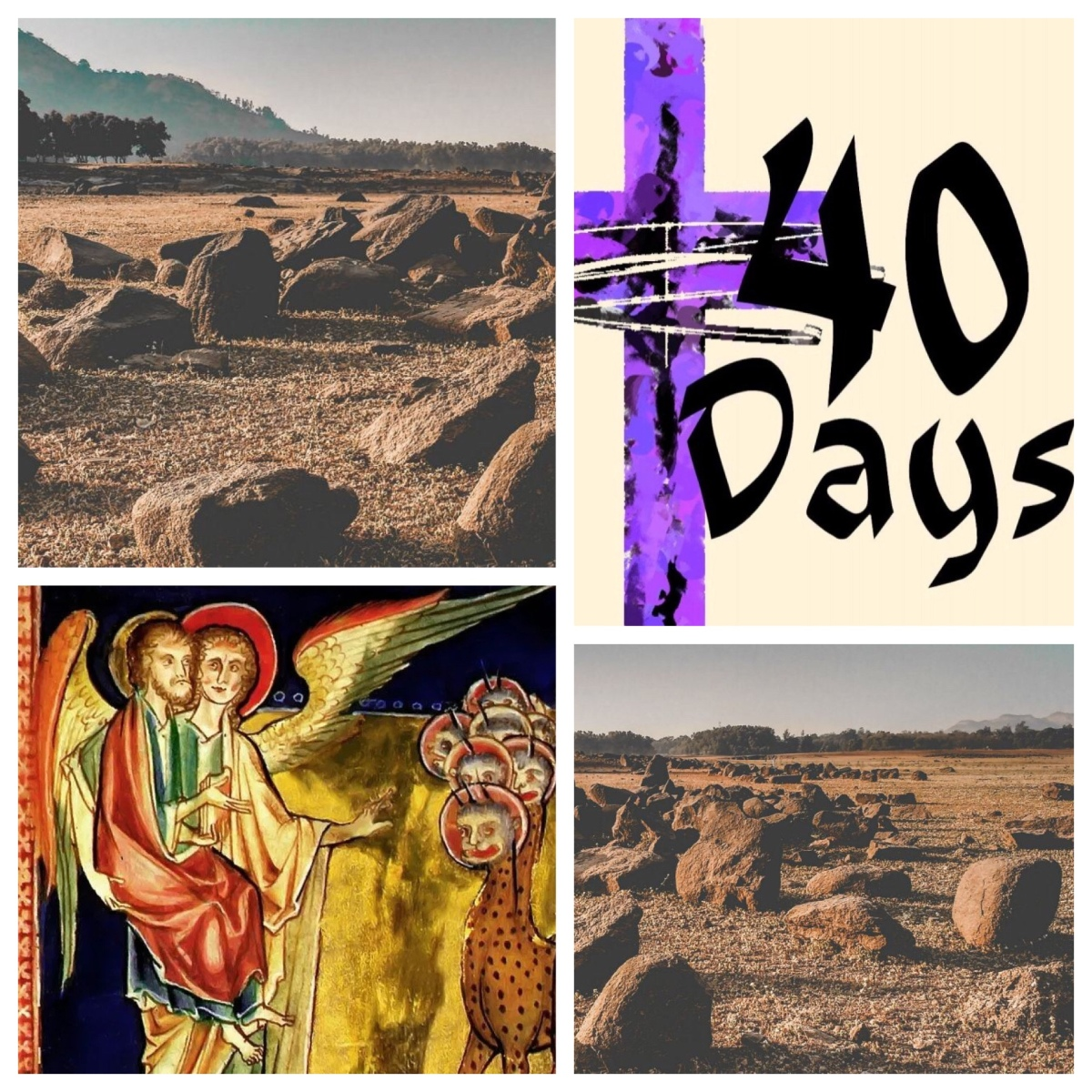 Forty days, led by the Spirit: Jesus in the wilderness (Mark 1; Lent 1)