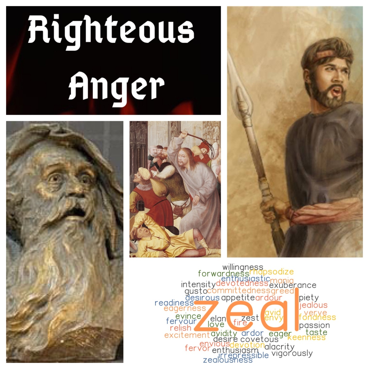 Righteous anger and zealous piety: the incident in the Temple (John 2; Lent 3B)