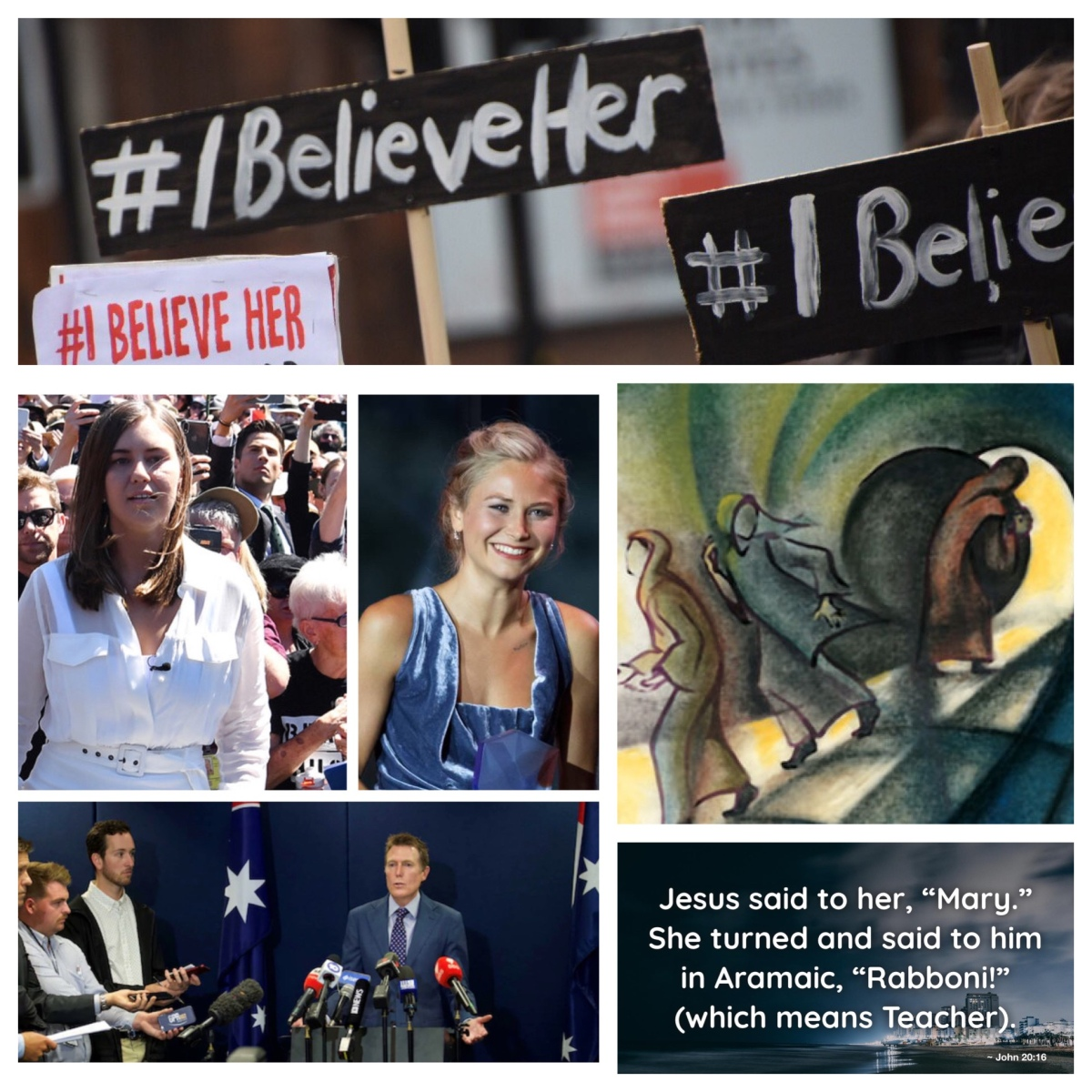 #IBelieveHer: hearing the voice of women (Easter Day; John 20)