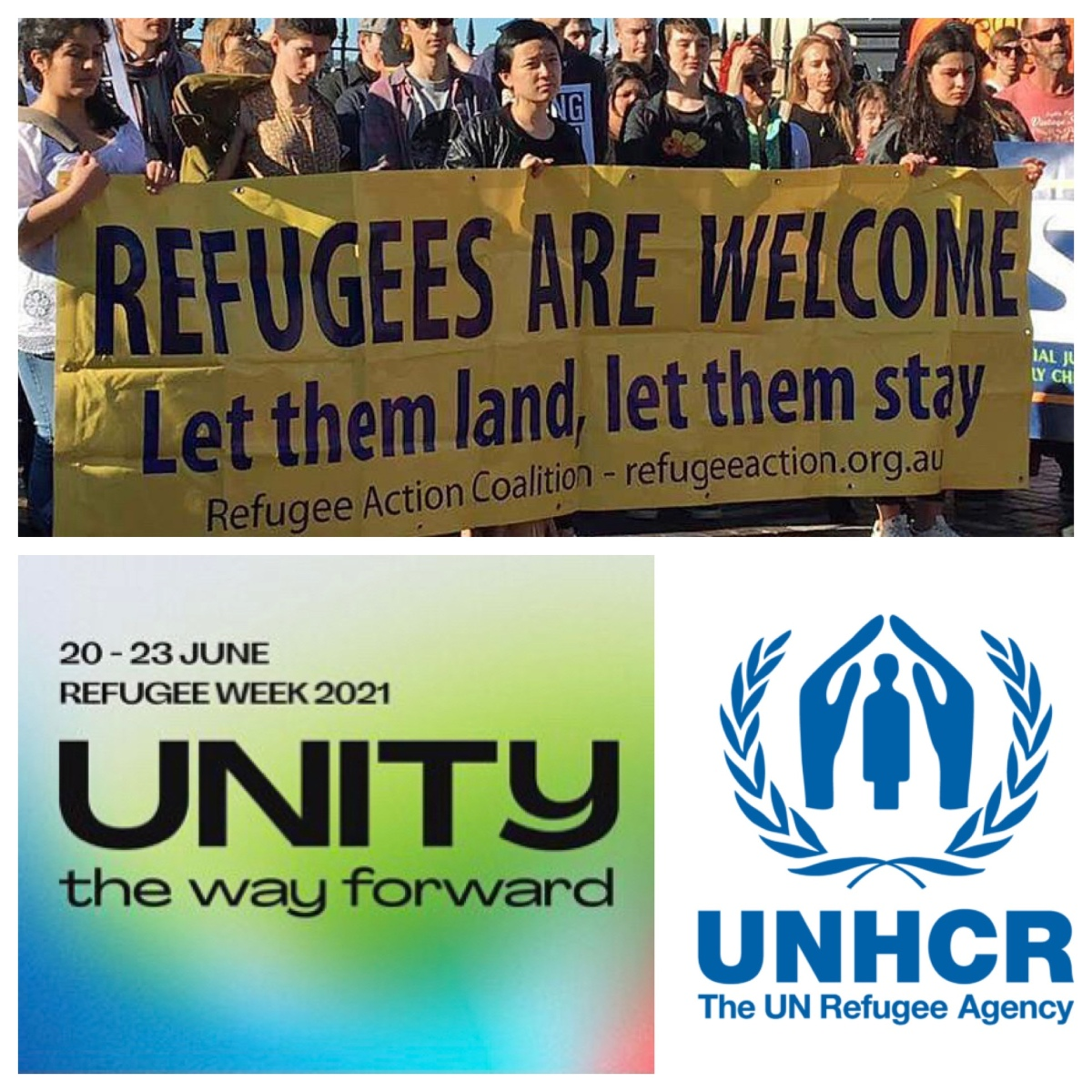 """World Refugee Day 2021: """"when I was a stranger, you welcomedme"""""""