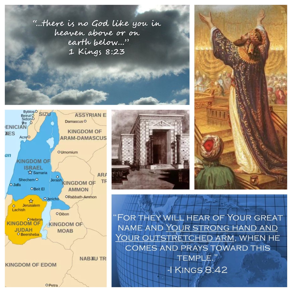 In order that all the peoples of earth may know your name (1 Kings 8; Pentecost13B)