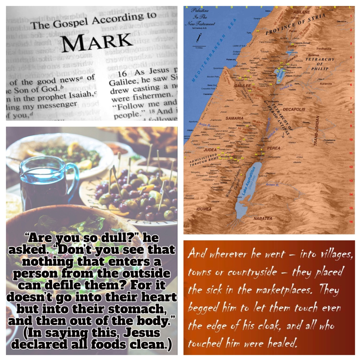 Stretching the boundaries of the people of God (Mark 7; Pentecost 14B,15B)