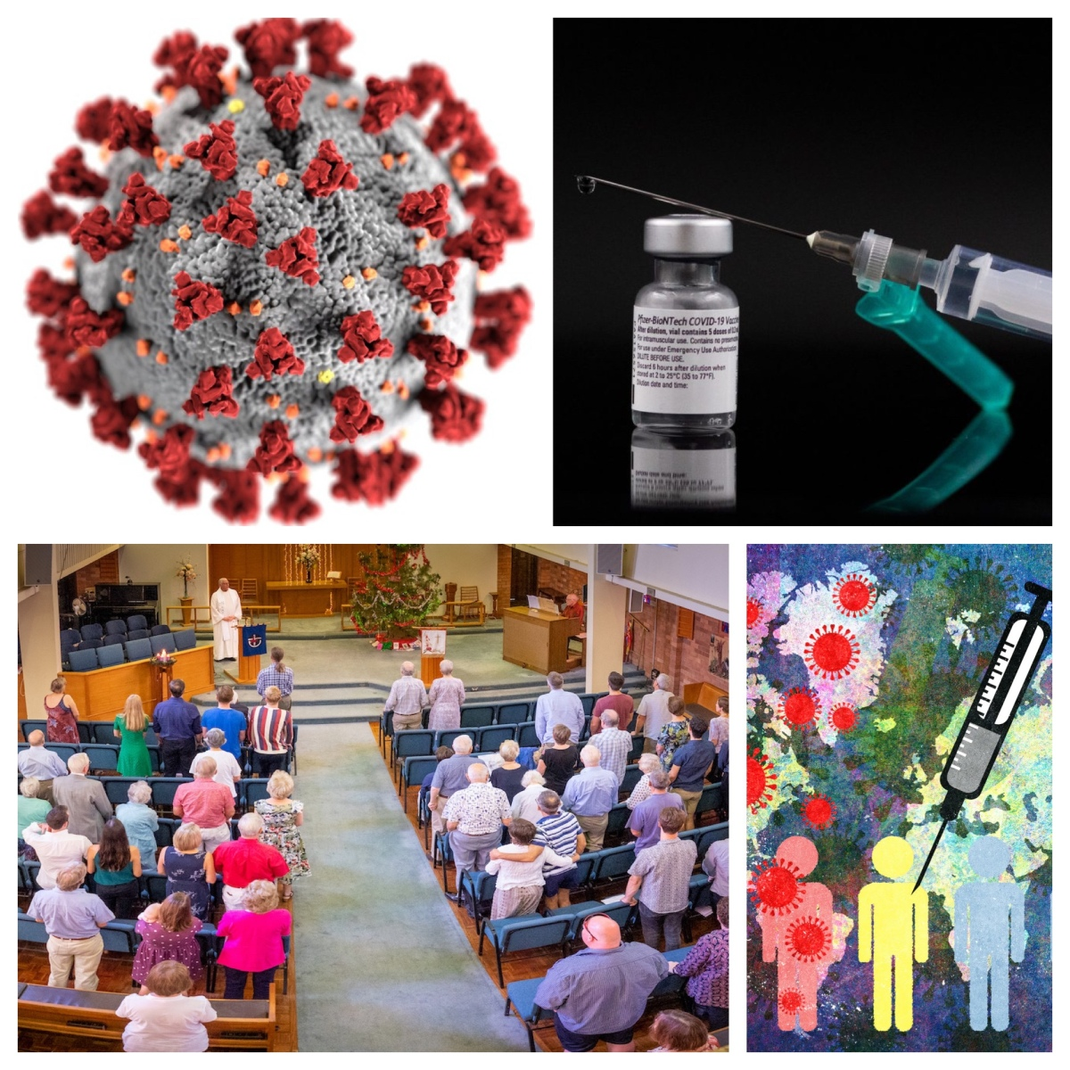On vaccinations, restrictions, andfundamentalism